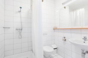 Łazienka w obiekcie Dom Turystyczny Indigo - Hotel Pracowniczy