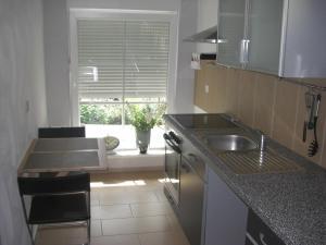 Küche/Küchenzeile in der Unterkunft Endbach-Life