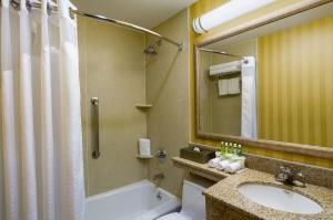 A bathroom at Holiday Inn Express New York City Chelsea