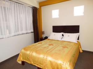 A room at Hotel Gran Sipan