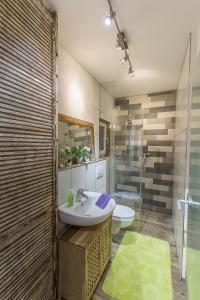 Ein Badezimmer in der Unterkunft Sandra's Ferienoase