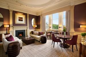 A seating area at Waldorf Astoria Edinburgh - The Caledonian