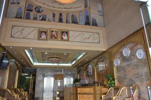 منطقة الاستقبال أو اللوبي في فندق انوار الضيافة