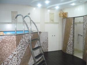 Ванная комната в Отель Унисон