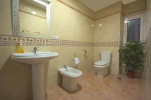 Un baño de Pension Alcazaba