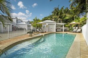 The swimming pool at or near Portside Noosa Waters