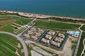 Letecký snímek ubytování Villaggio Laguna Blu