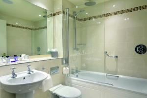 A bathroom at Macdonald Aviemore Hotel