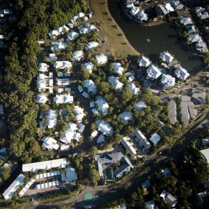 A bird's-eye view of Marlin Cove Holiday Resort
