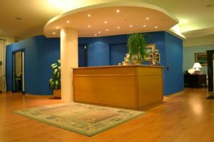 The lobby or reception area at Hotel La Vela