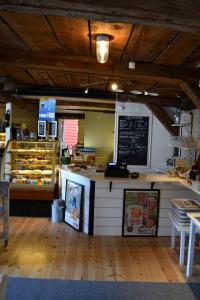 A restaurant or other place to eat at Mallboden Café & Vandrarhem