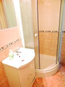 Koupelna v ubytování Apartment at Wenceslas Square