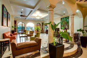 The lobby or reception area at San Ignacio Resort Hotel