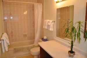 A bathroom at Stafford House Bed & Breakfast