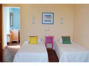 Un ou plusieurs lits dans un hébergement de l'établissement Bellevue Lauris Provence