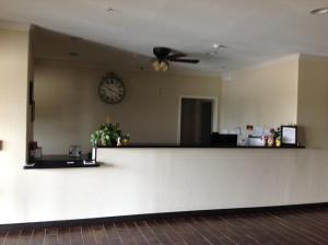 The lobby or reception area at Yorktown Inn and Suites