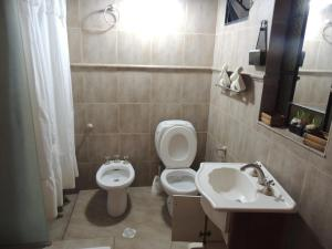 A bathroom at Apartment Maipu II