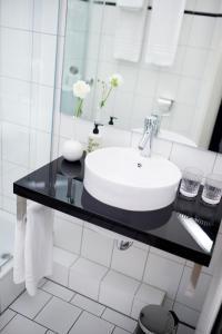 A bathroom at Fritz im Pyjama
