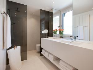 Ein Badezimmer in der Unterkunft Boutique Apartments Bezau