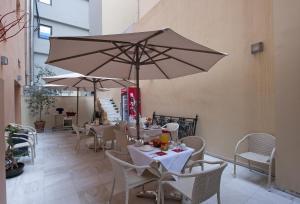 Εστιατόριο ή άλλο μέρος για φαγητό στο Efplias Hotel Apartments
