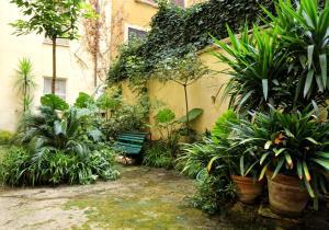 Jardin de l'établissement Residenza Pomponio