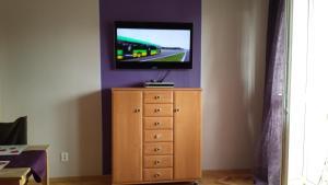 Telewizja i/lub zestaw kina domowego w obiekcie StudioSpanie Studio Orange