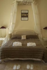Un ou plusieurs lits dans un hébergement de l'établissement Ferme De La Canardière