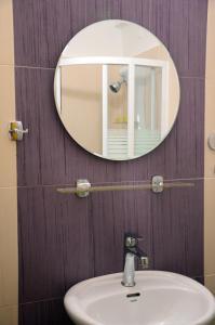 Łazienka w obiekcie Hotel Argo