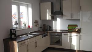 Küche/Küchenzeile in der Unterkunft Schwarzwalddomizil am Glottertal