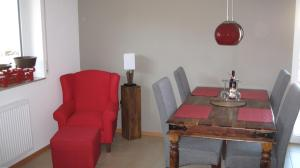 Ein Sitzbereich in der Unterkunft Schwarzwalddomizil am Glottertal