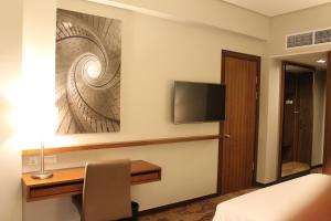 A television and/or entertainment centre at I Hotel Baloi Batam