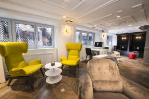 Coin salon dans l'établissement Vertigo | a Member of Design Hotels™