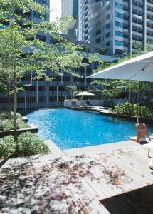 The swimming pool at or near Fraser Residence Kuala Lumpur