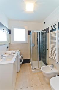 Koupelna v ubytování Villa Marina