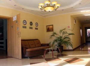 The lobby or reception area at Zakarpatskiy Oazis