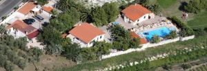 Vista aerea di Residence Palm Garden