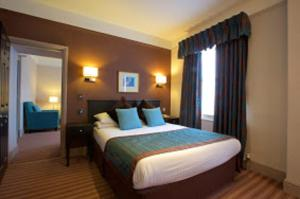A bed or beds in a room at Stourport Manor Hotel, Sure Hotel Collection by Best Western