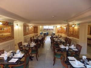 A restaurant or other place to eat at The Mountford Hotel
