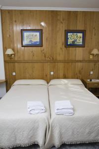 Cama o camas de una habitación en Hotel Restaurante Prado