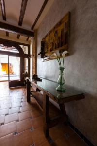 El salón o zona de bar de Casa Las Martinas