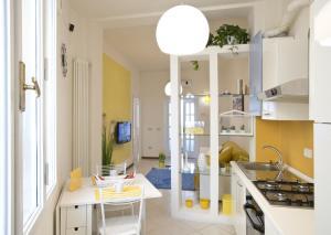 Una cocina o zona de cocina en A Casa di Sara