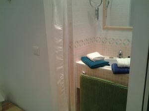 A bathroom at Le Clos Osteria