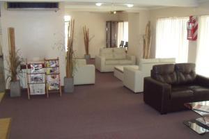 Гостиная зона в Hotel Embajador