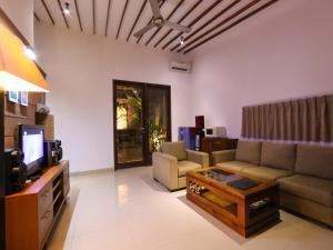 A seating area at Grania Bali Villas