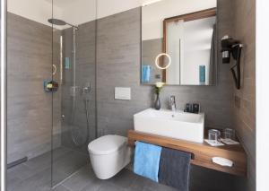 Ein Badezimmer in der Unterkunft Best Western Hotel am Europaplatz