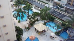 A view of the pool at Prive das Thermas 405 or nearby