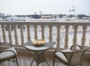 Балкон или терраса в Adams Hotel