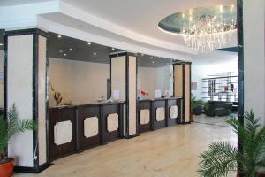 The lobby or reception area at Moonlight Hotel - All Inclusive