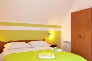 Postel nebo postele na pokoji v ubytování House Plitvice