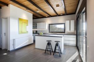 Η κουζίνα ή μικρή κουζίνα στο Villa Pyxida